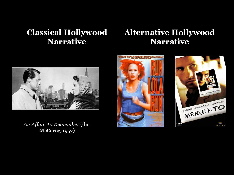 Classical Hollywood Narrative An Affair To Remember (dir.