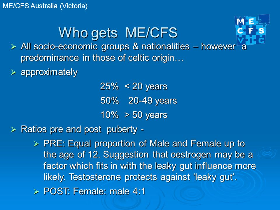 ME/CFS Australia (Victoria) CFS & Fibromyalgia Disability/Ability Rating Scale 100 Fully recovered.