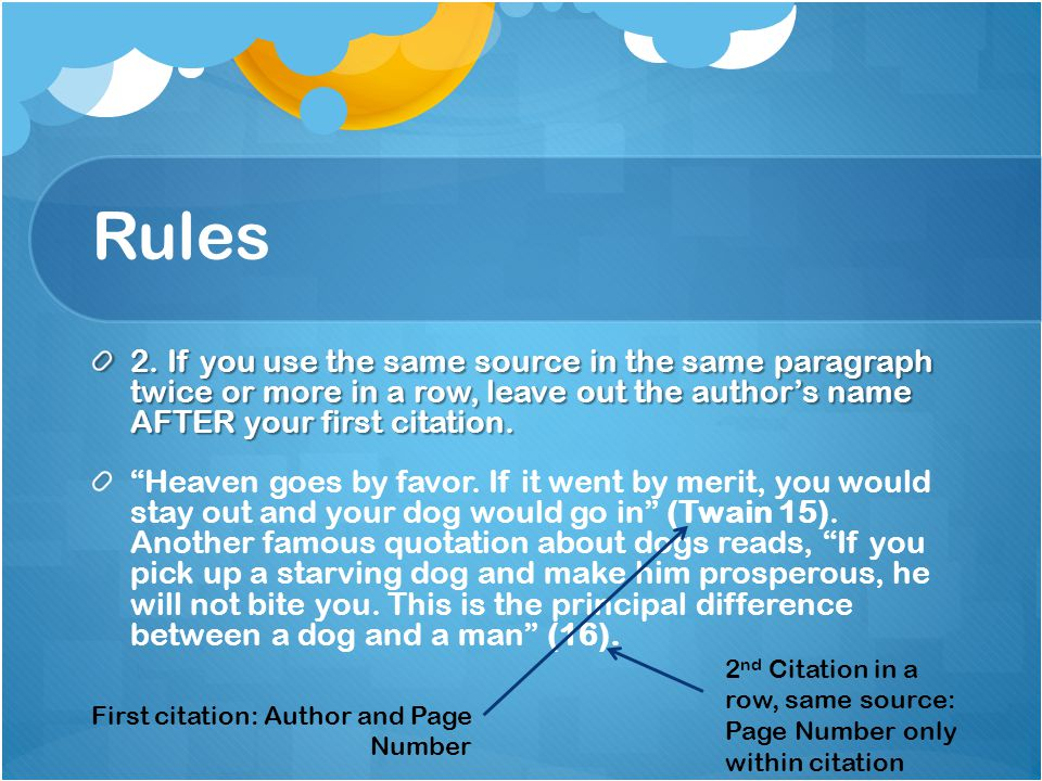 Rules 3.