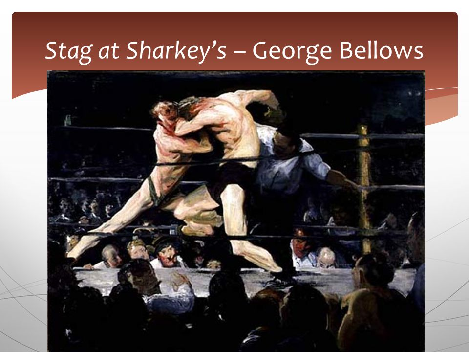 Stag at Sharkey's – George Bellows