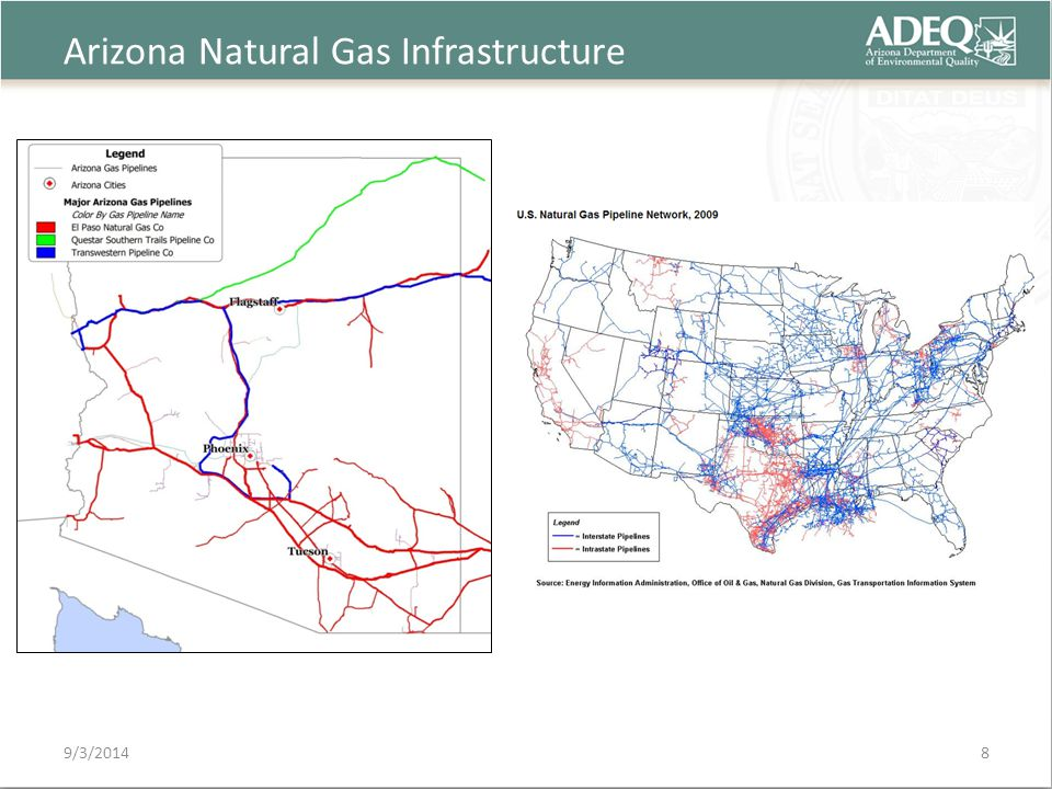 Arizona Natural Gas Infrastructure 9/3/20148