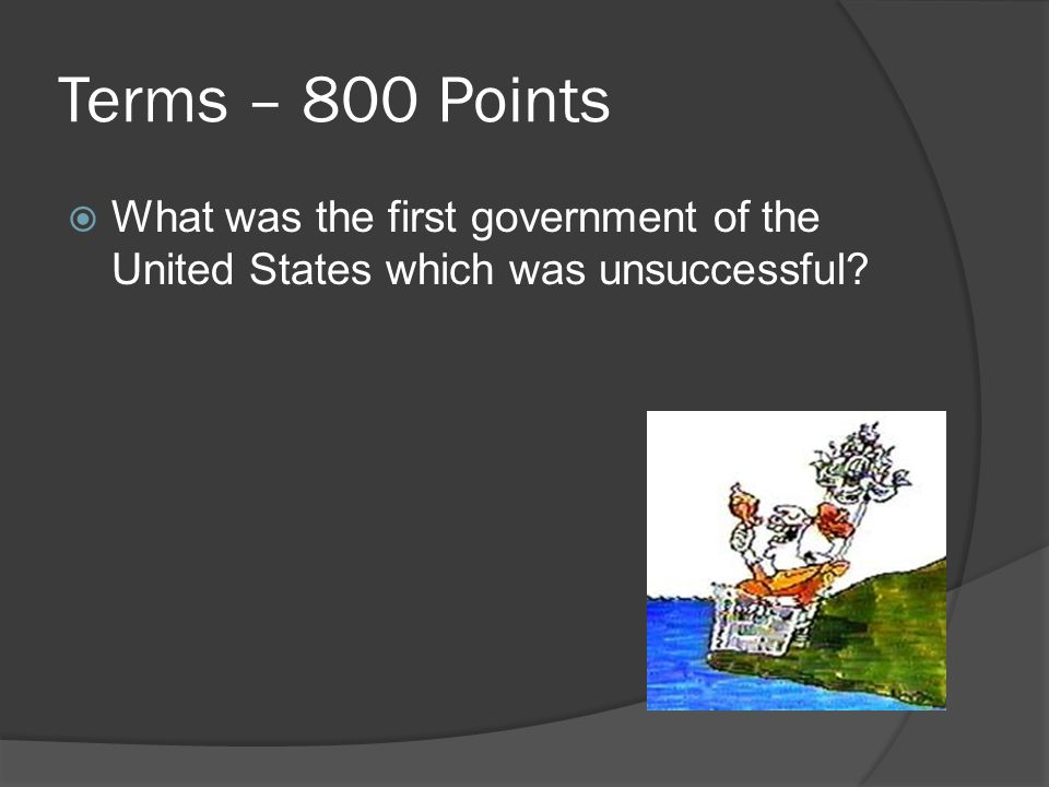 Miscellaneous – 1000 Points  How much did slaves count as in counting population?
