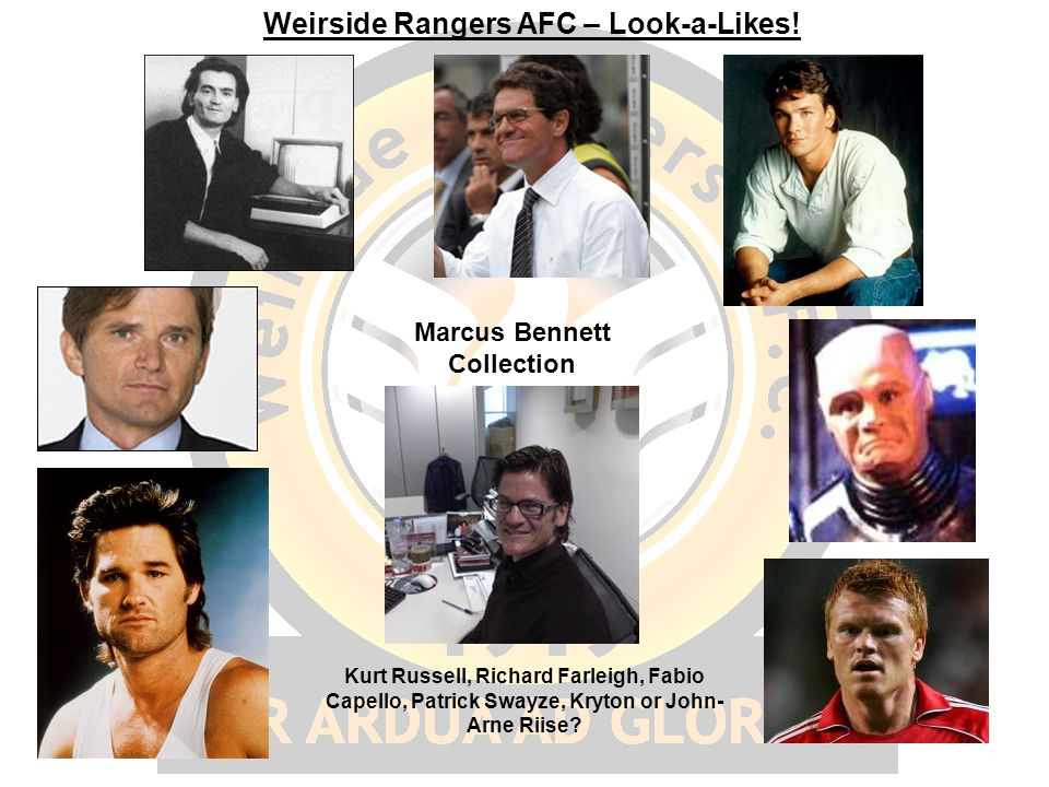 Weirside Rangers AFC – Look-a-Likes.