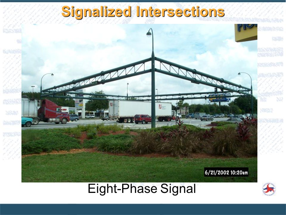 Signalized Intersections Eight-Phase Signal