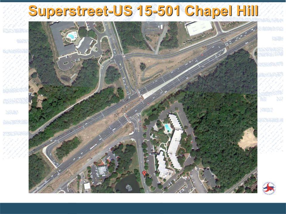 Superstreet-US 15-501 Chapel Hill