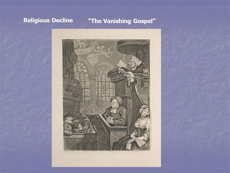 Religious Decline The Vanishing Gospel