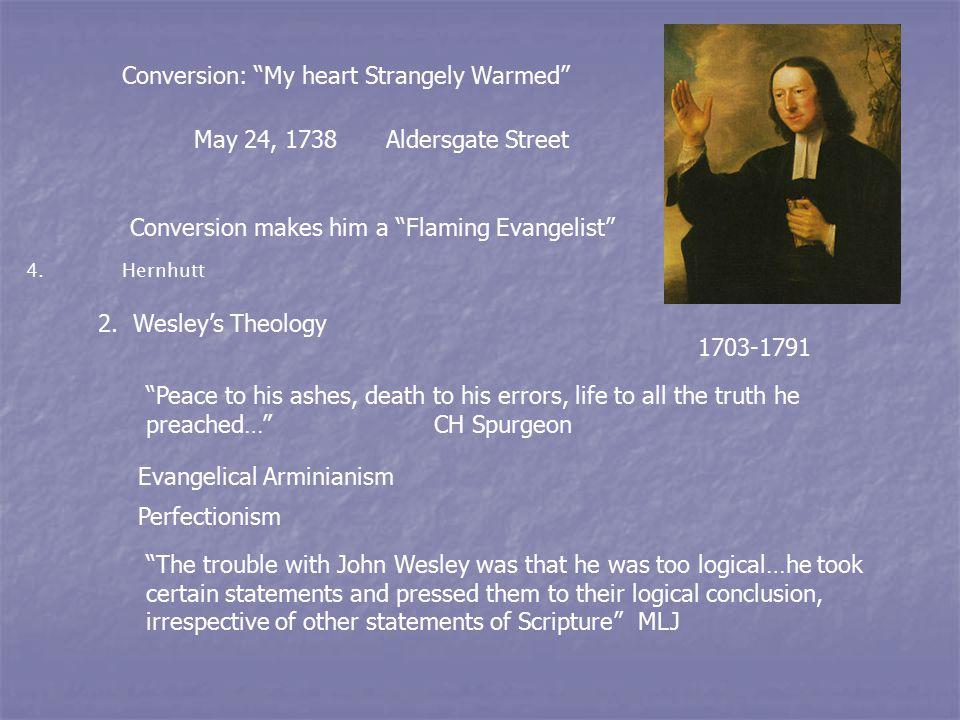 3.John and Charles Wesley's Hymns CHARLES WESLEY 1707-1788 4.