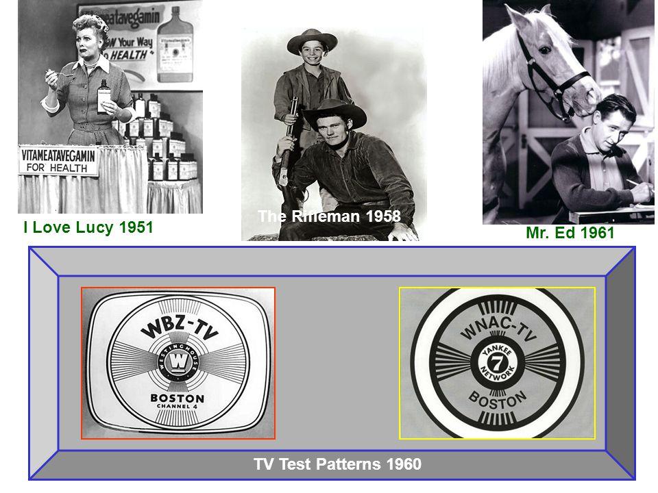 Lassie 1958 Wanted: Dead or Alive 1958 Zorro 1957 The Twilight Zone 1960 Gilligan s Island 1966