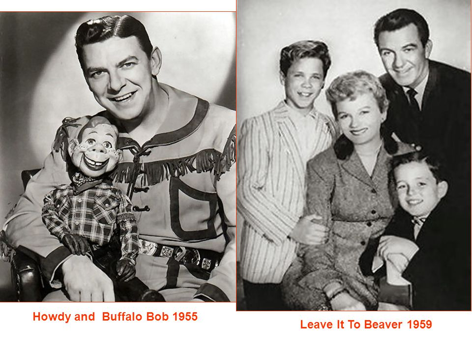 TV Test Patterns 1960 I Love Lucy 1951 The Rifleman 1958 Mr. Ed 1961