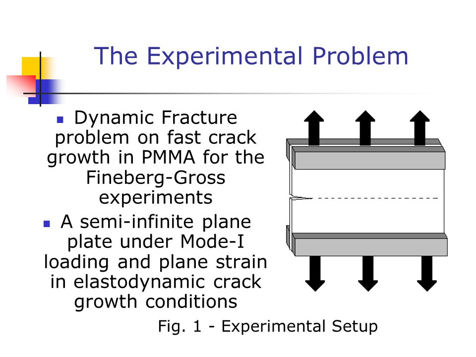 Introduction Dynamic fracture has been stimulating interest not only because of its fundamental importance in understanding fracture processes but also because of the challenges to mathematical analysis and experimental techniques.