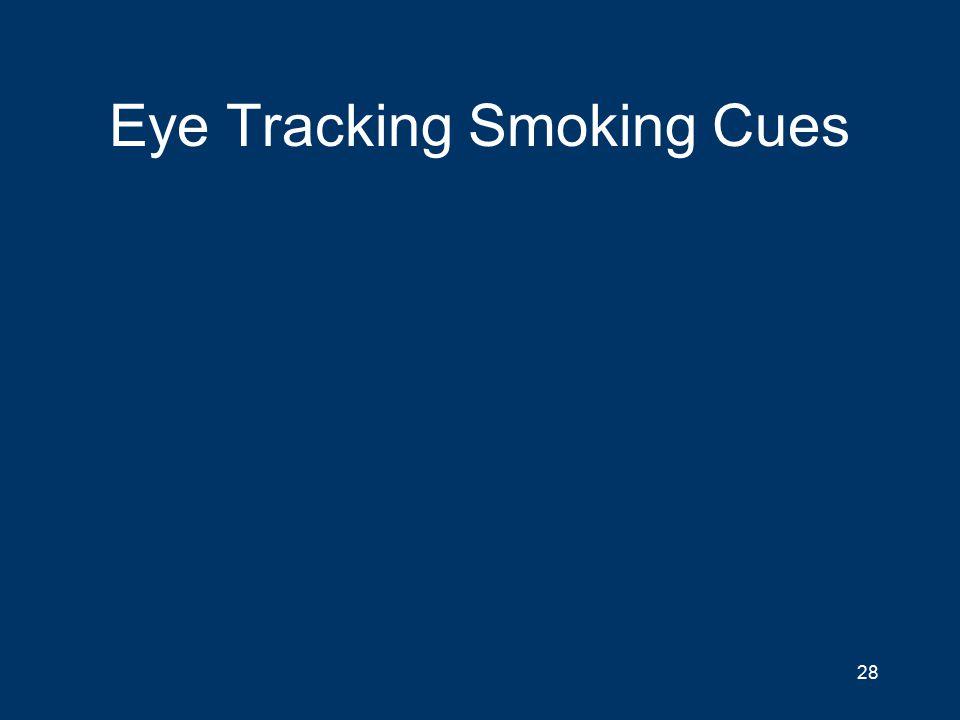 Eye Tracking Smoking Cues 28