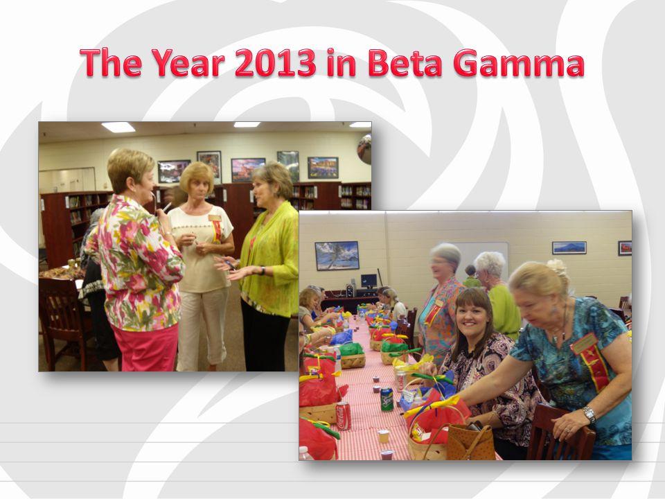 Miss Eva Gardner met with members of Beta Gamma for a program planning meeting.