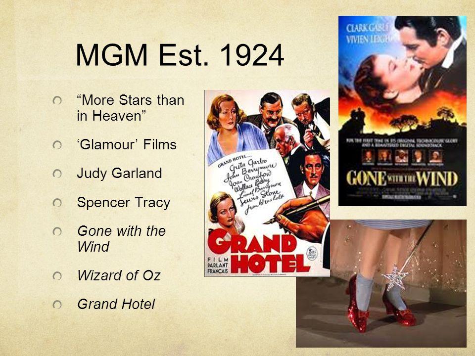 MGM Est.