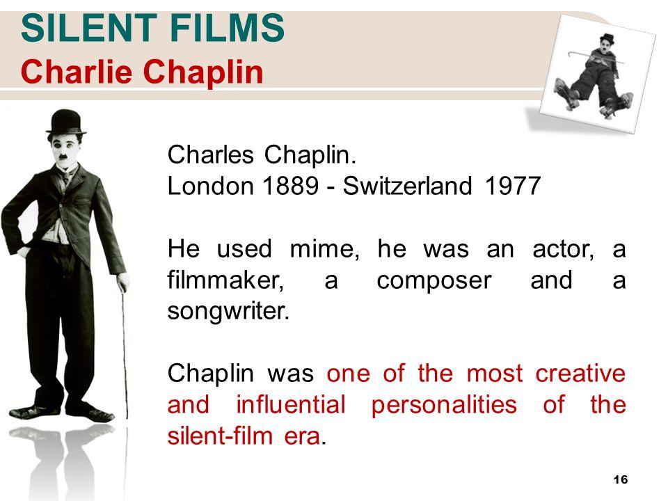 16 SILENT FILMS Charlie Chaplin Charles Chaplin.