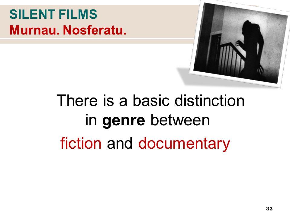 SILENT FILMS Murnau. Nosferatu.
