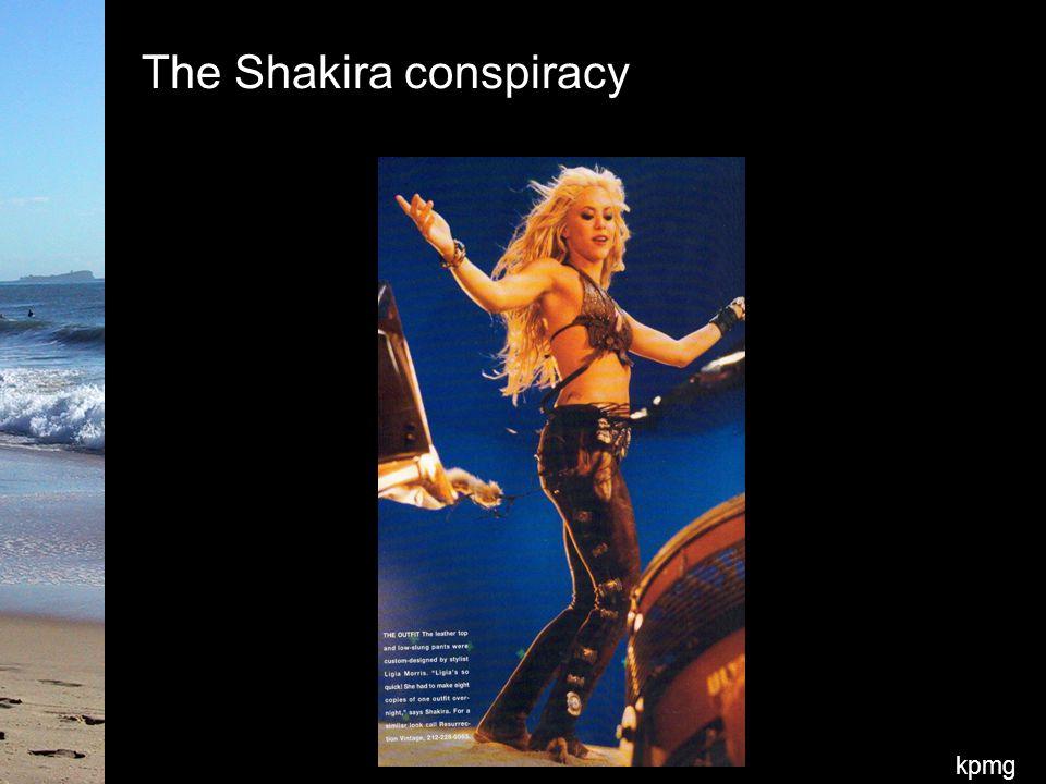 kpmg The Shakira conspiracy
