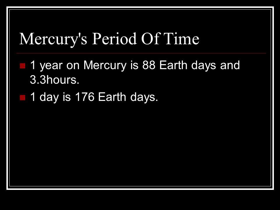 Mercury In Full View