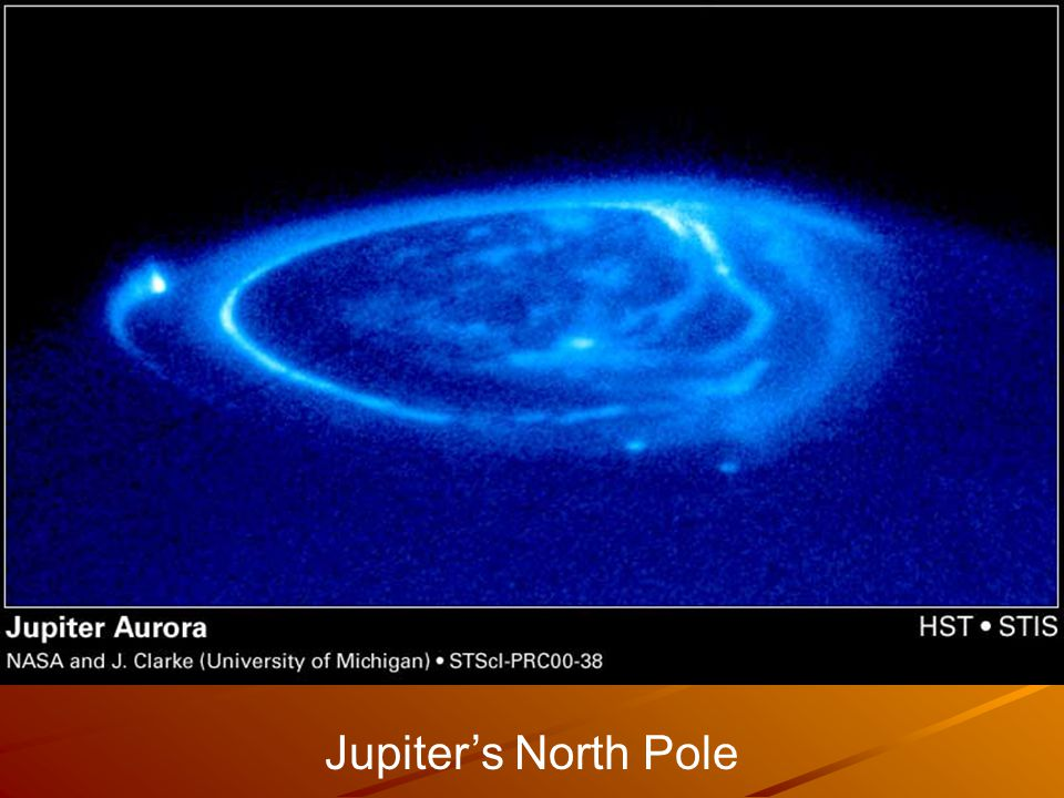 Jupiter's North Pole
