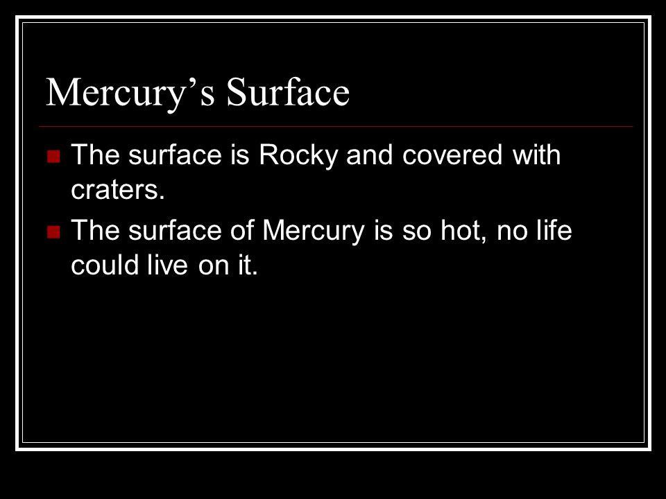 Mercury s South Pole