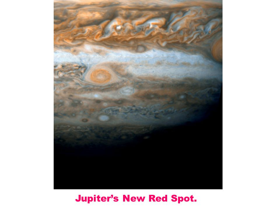 Jupiter's New Red Spot.