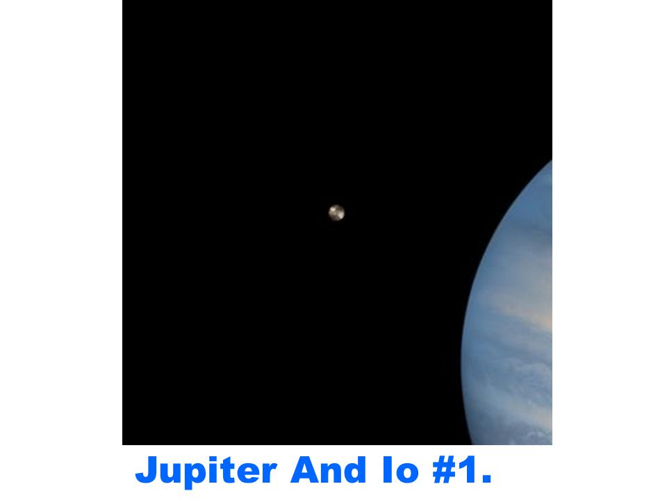 Jupiter And Io #1.