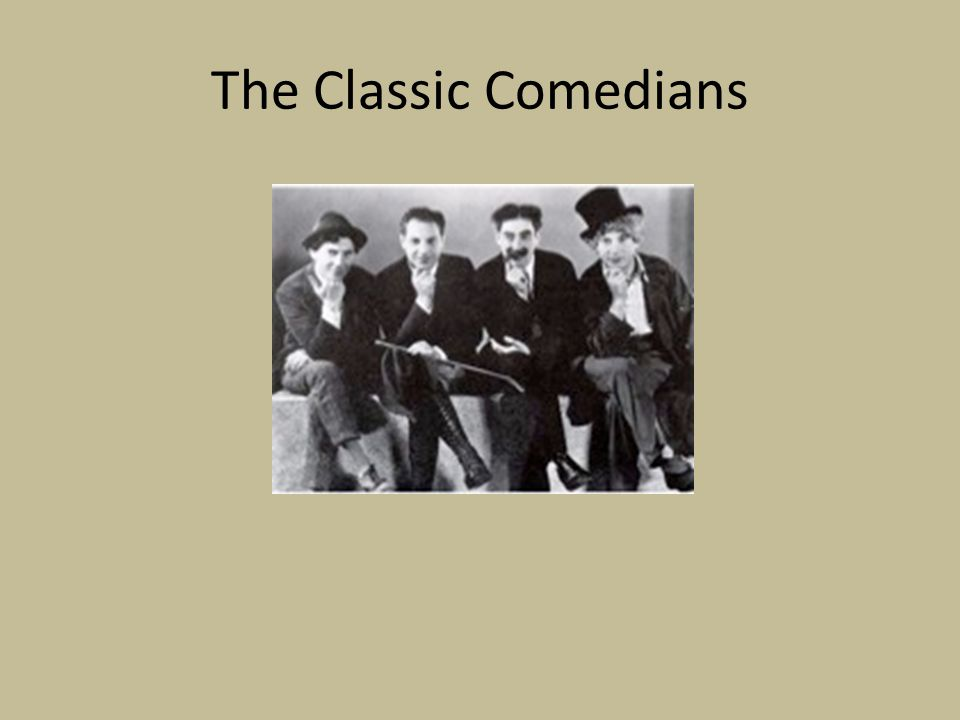 The Classic Comedians