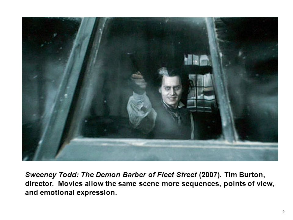 9 Sweeney Todd: The Demon Barber of Fleet Street (2007).