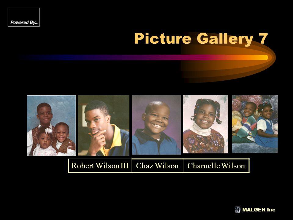 MALGER Inc Picture Gallery 7 Robert Wilson IIIChaz WilsonCharnelle Wilson