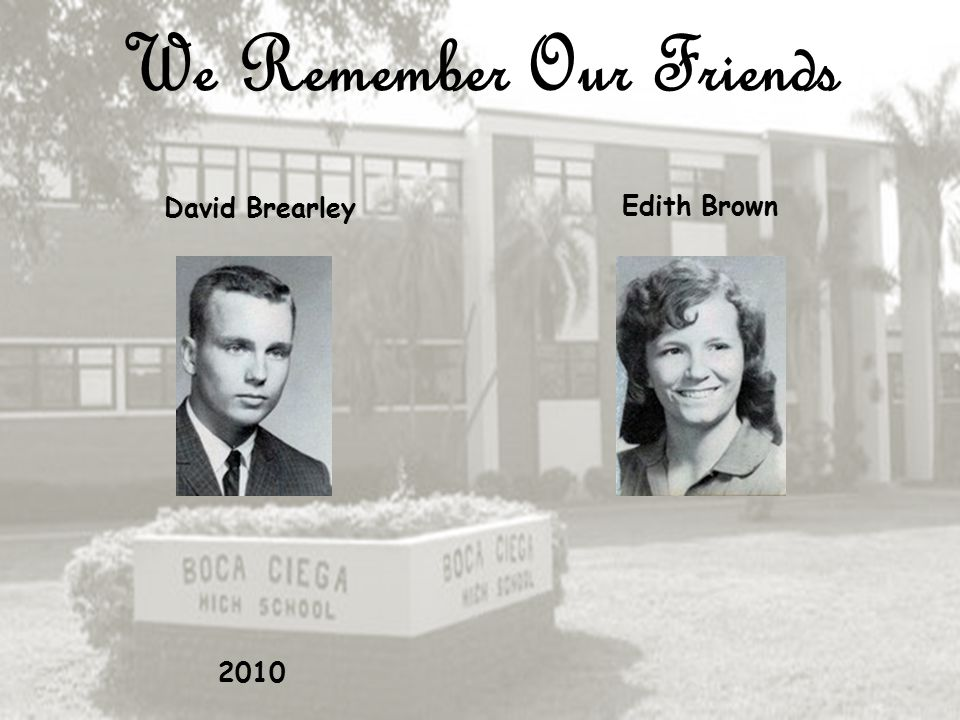 We Remember Our Friends Gary Bowen Charles Rusty Brady 1999