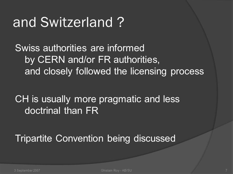 and Switzerland .