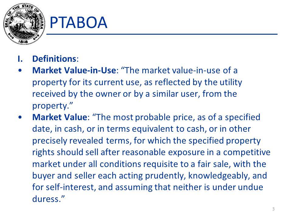 PTABOA Certification Appeal Board, IC 6-1.1-35.7-4(d) & (e) New subsection IC 6-1.1-35.7-4(d) establishes a certification appeal board ( Board ).