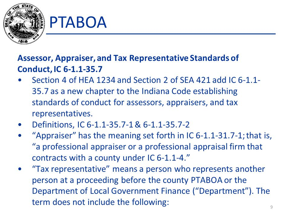 PTABOA Question: We are having a difficult time finding qualified individuals to serve on our PTABOA.