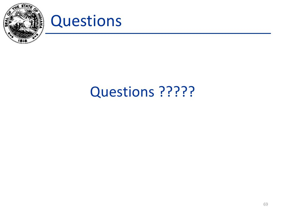 Questions Questions ????? 69