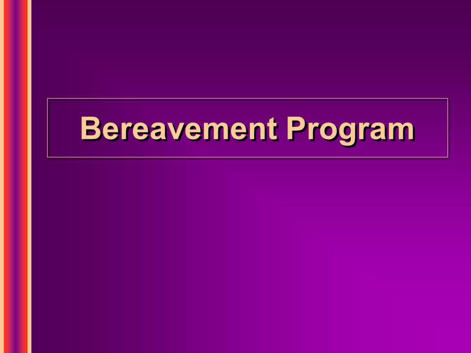 Bereavement Program