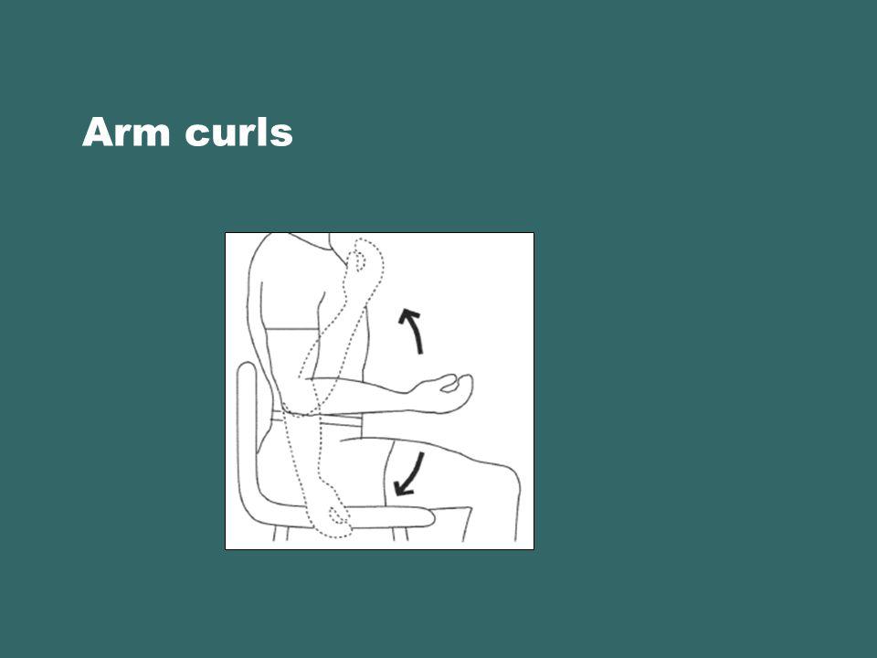 Arm curls