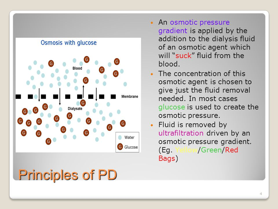 15 PD Fluid Components of PD fluid can be divided in into electrolytes, buffer and osmotic agents.