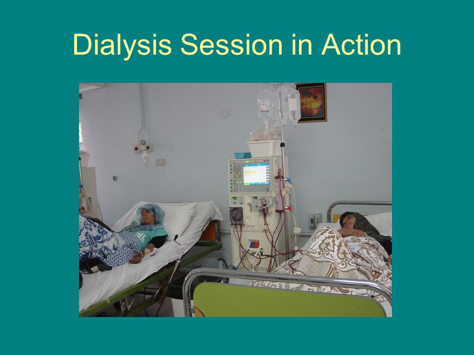 Dialysis Session in Action