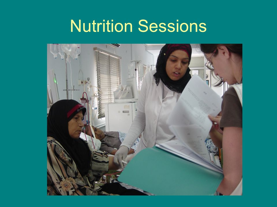 Nutrition Sessions