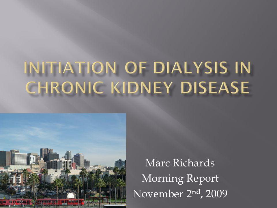 Marc Richards Morning Report November 2 nd, 2009