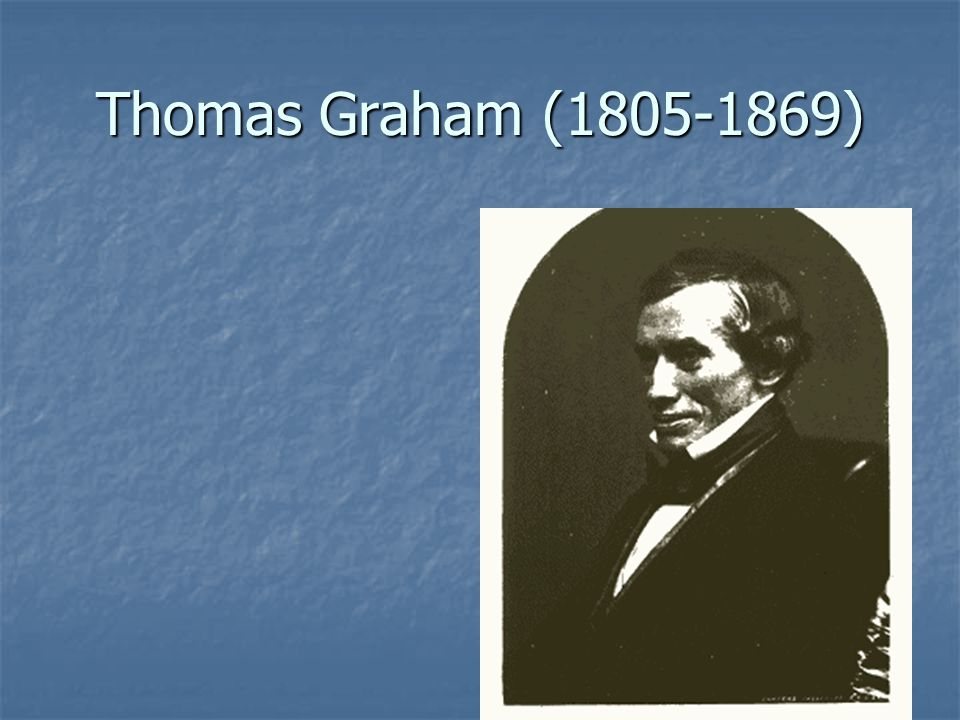Thomas Graham (1805-1869)