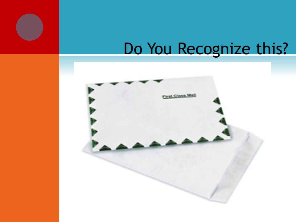 Do You Recognize this