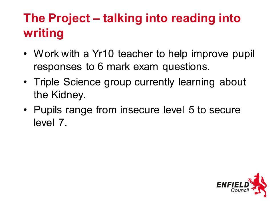 Reading around the topic – Catalyst