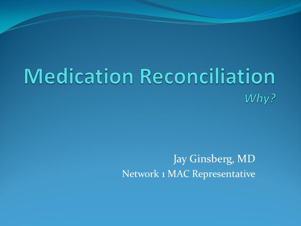 Jay Ginsberg, MD Network 1 MAC Representative