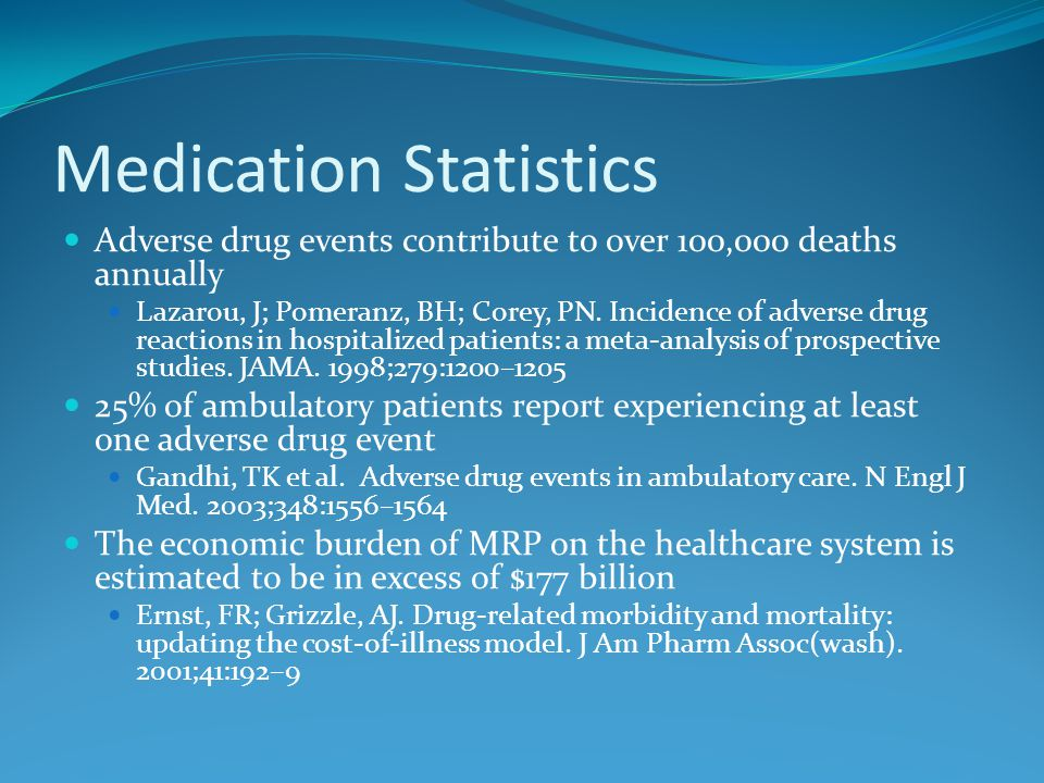 Dialysis Statistics The average dialysis patient takes 6 to 10 medicines a day.