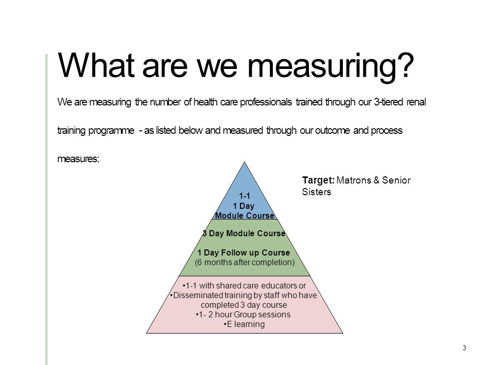 What are we measuring.