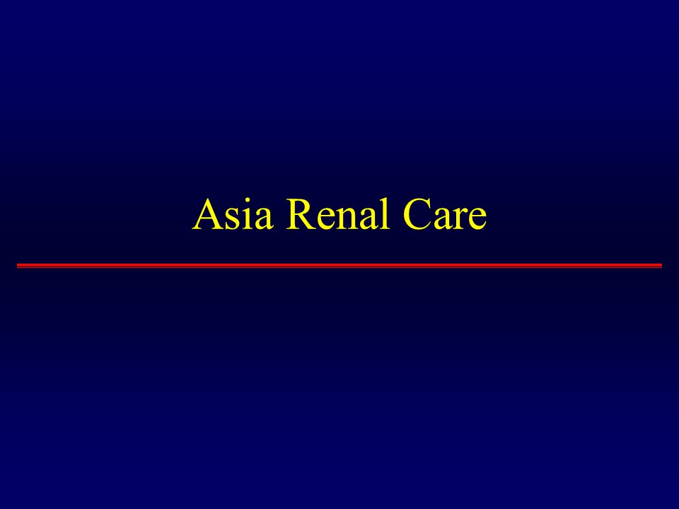 Asia Renal Care