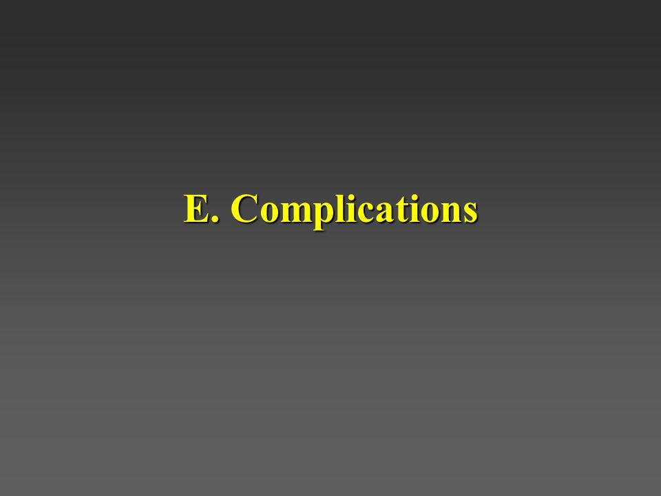 E. Complications