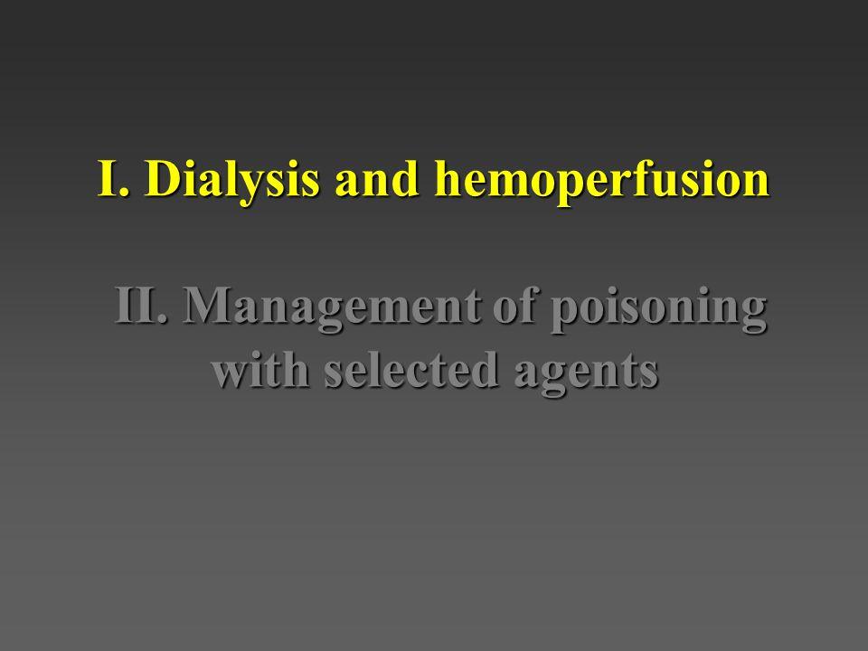HemodialysisHemodialysis a)Hypophosphatemia.