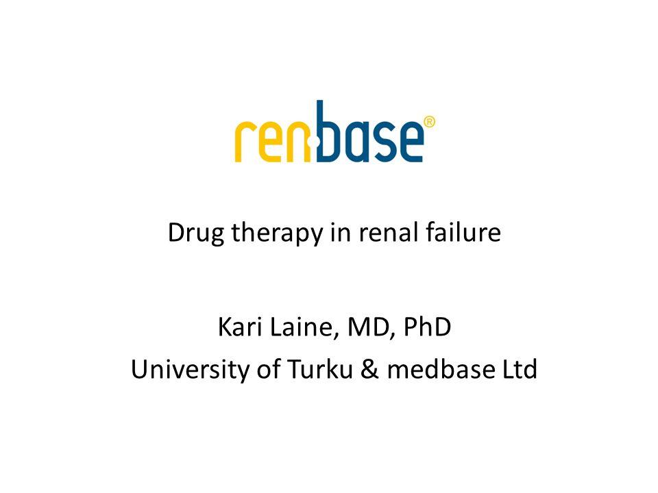 Relevance of metabolites Prodrugs – Parent drug inactive, pharmacologic effect from metabolites; e.g.