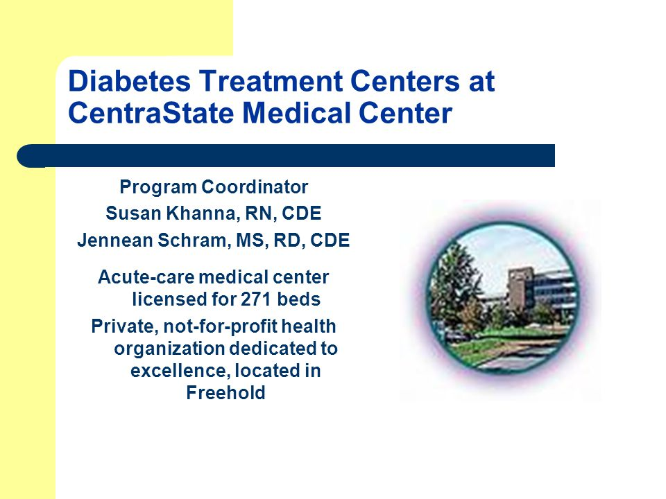 Center for Nutrition & Diabetes Mgmt.